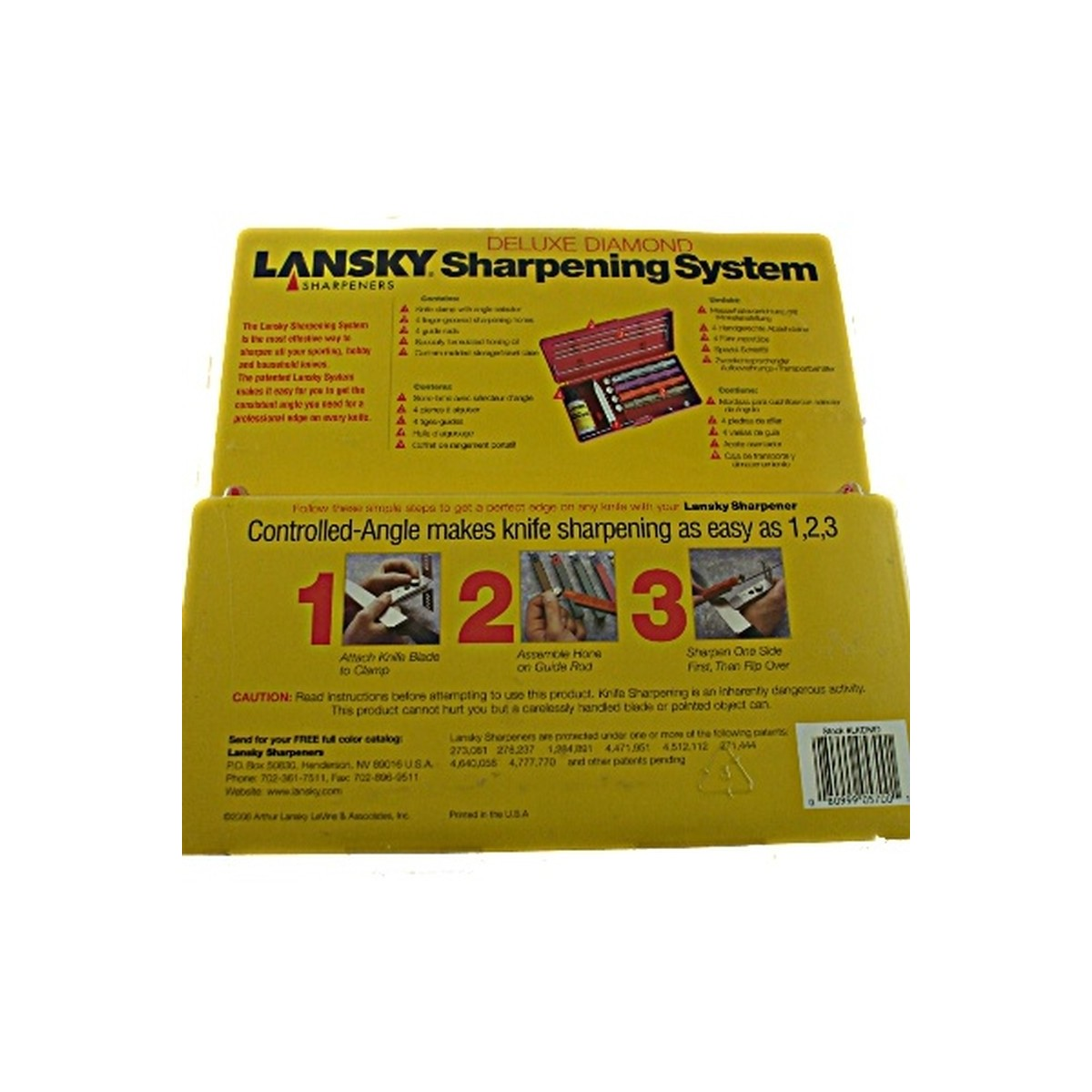 Lansky Deluxe Diamond Knife Sharpening System
