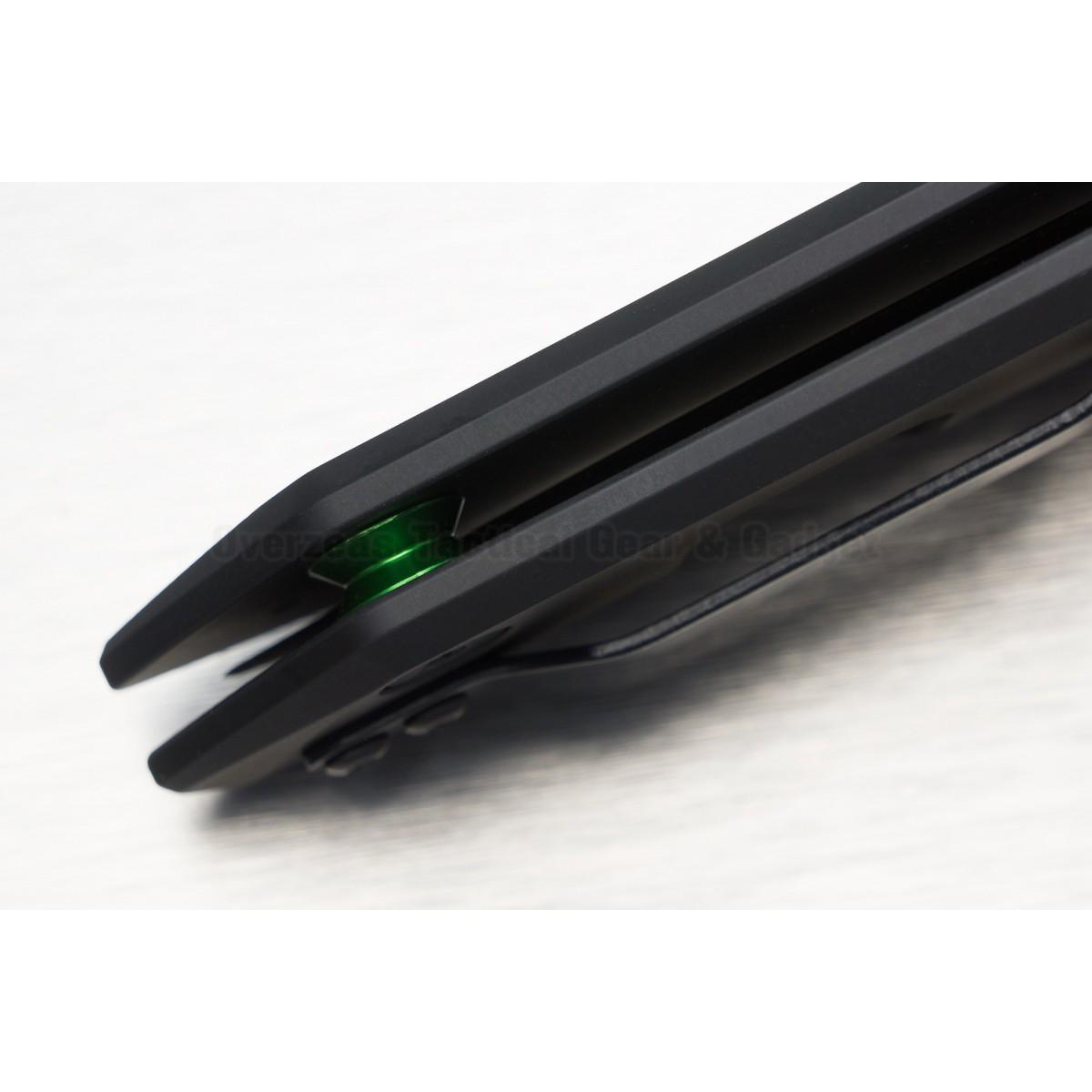 """มีดพับ Zero Tolerance 0095S90BLK Flipper Knife Black DLC Titanium (3.6"""" Black DLC) ZT0095S90BLK"""
