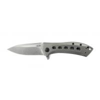 """มีดพับ Zero Tolerance Rexford 0801TI Flipper Knife Titanium (3.5"""" Stonewash) ZT0801TI"""