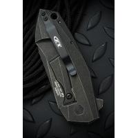 """มีดพับ Zero Tolerance 0456BW Flipper Knife Titanium (3.25"""" Blackwash) ZT0456BW *Sprint run*"""