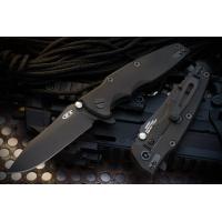 """มีดพับรุ่นพิเศษ Zero Tolerance Rick Hinderer 0392BLK Factory Custom Knife (3.5"""" DLC),0392BLK *LIMITED*"""
