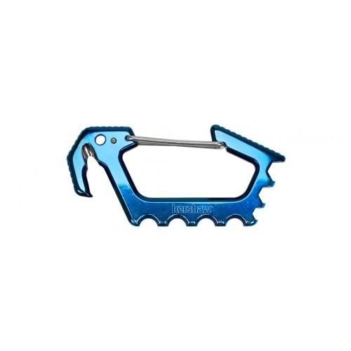 พวงกุญแจ Kershaw Jens Carabiner Multi-Tool (Polished Blue Ti) 1150BLU