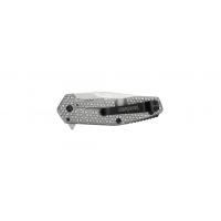"""มีดพับ Kershaw Cathode Assisted Opening Flipper Knife (2.25"""" Stonewash),1324"""