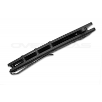 """มีดพับ Zero Tolerance 0562BLK Hinderer Slicer Knife Black G-10 (3.5"""" Black) *Sprint Run*"""