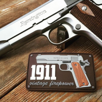 1911 Vintage Firepower - Patch