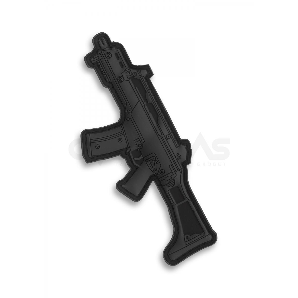Guerilla Patch Heckler & Koch G36 Assault Rifle PVC Patch Black,G36-BLACK
