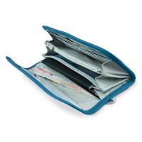Pacsafe RFID-tec™ 250 (Blue) RFID blocking travel wallet,688334009625