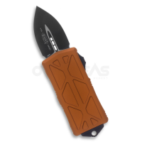 """copy of Microtech Exocet Dagger CA Legal OTF Automatic Knife Orange (CTS-204P 1.9"""" Black),157-1OR"""