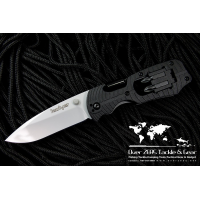 "Kershaw Select Fire 3-3/8"" Plain Edge Blade Multi-Tool Knife"