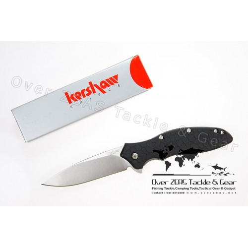 """Kershaw Knives Oso Sweet 3-1/2"""" Assisted Plain Blade, Zytel Handles"""