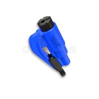resqme® Car Escape Tool, Seatbelt Cutter / Window Breaker,(Blue)