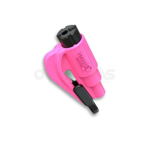 พวงกุญแจฉุกเฉิน ยิงกระจก ตัดสายนิรภัย ResQme Pink,(LH04)