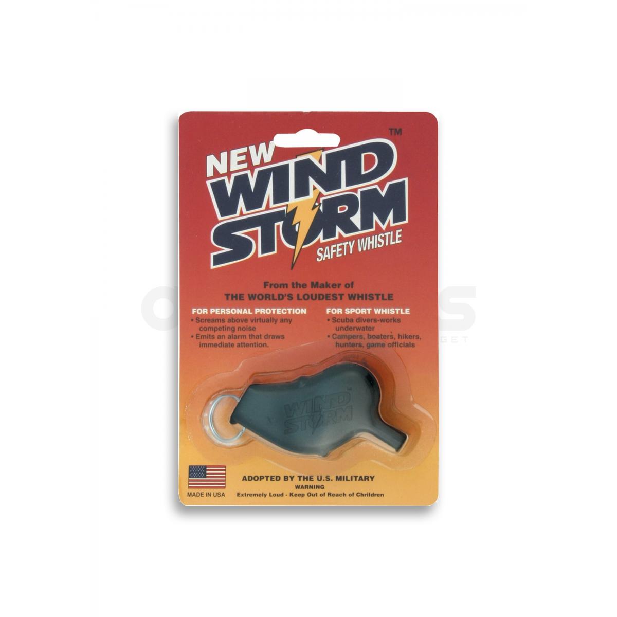 Windstorm Whistle (Black)
