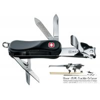 กรรไกรตัดเล็บ+มัลติทูล Wenger Swiss Clipper Soft Touch 16832